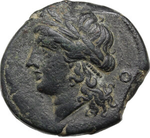 obverse: Central and Southern Campania, Neapolis. AE 21 mm. 275-250 BC