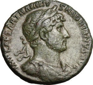 obverse: Hadrian (117-138). AE As, 119-121 AD