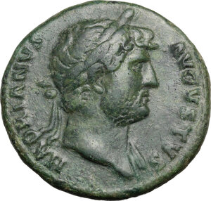 obverse: Hadrian (117-138). AE As