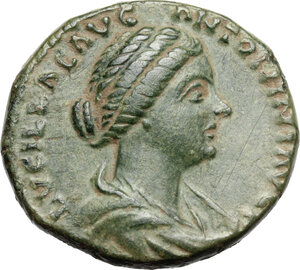 obverse: Lucilla, wife of Lucius Verus (died 183 AD). AE As