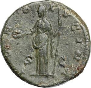 reverse: Crispina, wife of Commodus (died 183 AD). AE Dupondius, Rome mint