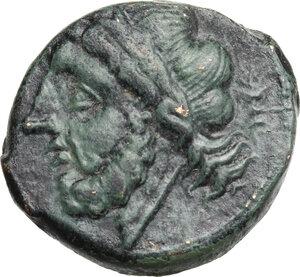 obverse: Northern Apulia, Arpi. AE 21 mm c. 325-275 BC
