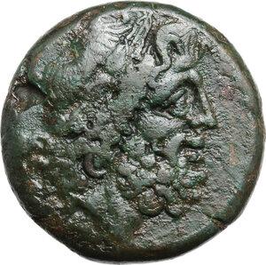 obverse: Northern Apulia, Teate. AE Nummus, 225-200 BC