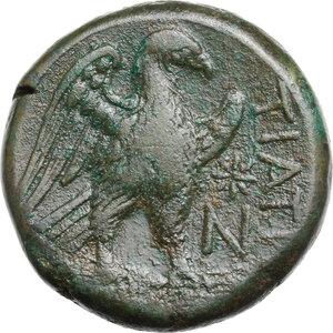 reverse: Northern Apulia, Teate. AE Nummus, 225-200 BC