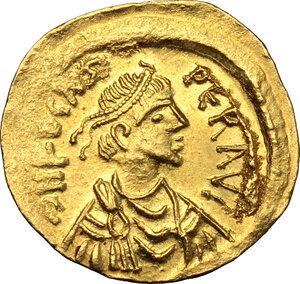 obverse: Phocas (602-610). AV Semissis, Constantinople mint