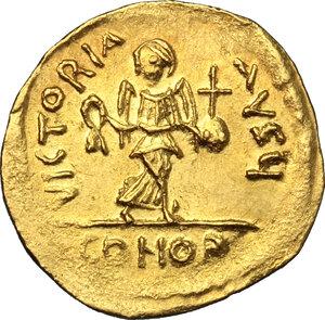 reverse: Phocas (602-610). AV Semissis, Constantinople mint