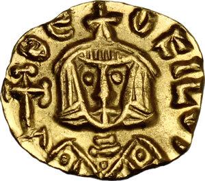 reverse: Theophilus (829-842). AV Tremissis, Syracuse mint