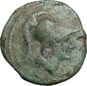 obverse: Southern Apulia, Azetium. AE 20.5 mm. c. 300-275 BC