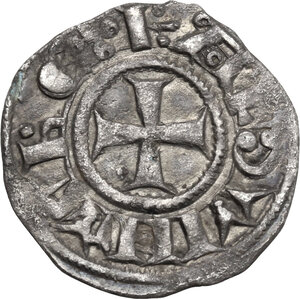 Jerusalem.  Baldwin III (1143-1163). BI Denier