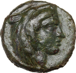 obverse: Northern Lucania, Velia. AE 15mm, late 5th century BC