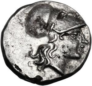 obverse: Southern Lucania, Metapontum. AR Diobol, c. 325-275 BC