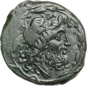 obverse: Bruttium, Brettii. AE 24 mm. 208-203 BC
