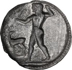reverse: Bruttium, Kaulonia. AR Stater, c. 525-500 BC