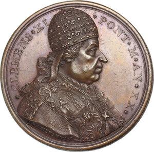 Clemente XI (1700-1721), Giovanni Francesco Albani. Medaglia annuale, A. XX
