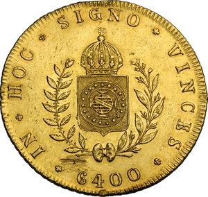 reverse: Brazil.  Pedro II (1831-1889). 4 Escudos (6400 Reis) 1832
