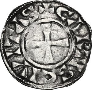 reverse: France.  Anonymous. Denier. Comté de Chartres , 11th-12th century