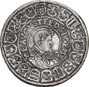 reverse: Germany, Sachsen.  Johann Georg I and August (1611-1612). Reichstaler 1612, Dresden mint