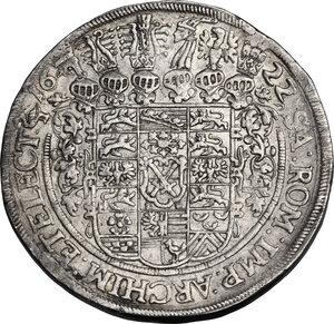reverse: Germany.  Saxony. Johann Georg Ier (1615-1656). Thaler 1622, Dresden mint