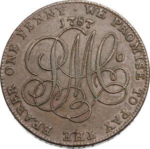 reverse: Great Britain.  Parys Mine Company, Thomas Williams, (1737-1802). Penny (Token) 1787