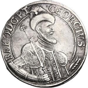 obverse: Hungary.  Georg Rakoczi II (1648-1660). Thaler 1656 NB, Nagybanya mint