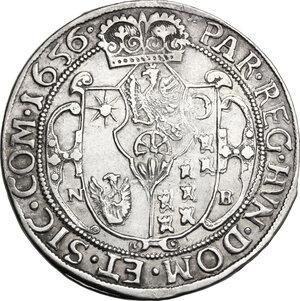 reverse: Hungary.  Georg Rakoczi II (1648-1660). Thaler 1656 NB, Nagybanya mint