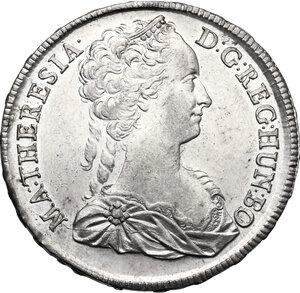 obverse: Hungary.  Maria Theresa (1740-1780). Thaler 1741 KB, Kremnitz mint