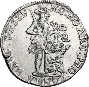 obverse: Netherlands. Ducat 1694