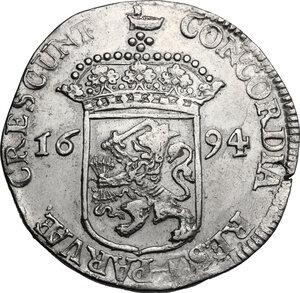 reverse: Netherlands. Ducat 1694