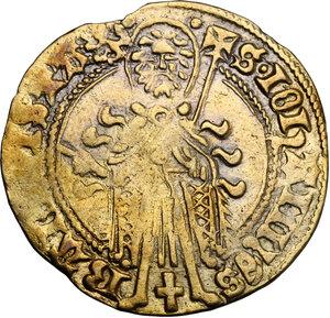 obverse: Netherlands.  Arnold Van Egmond (1423-1471). St. Jans Goldgulden (Florin d or)