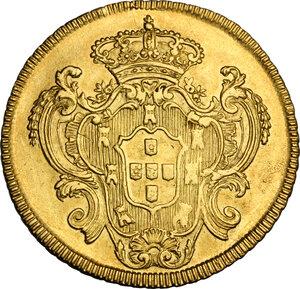 reverse: Portugal.  Maria I (1786-1799). 4 Escudos (6400 Reis) 1792