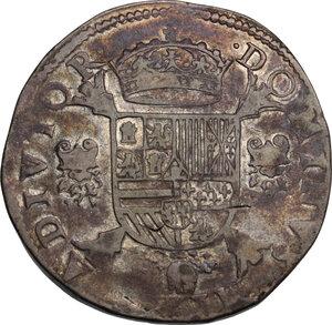 reverse: Spanish Netherlands, Brabant.  Philip II (1556-1598). Écu Philippe (Filipsdaalder) 1561, Antwerp