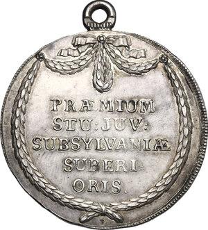 reverse: Switzerland. Prize medal (1791)