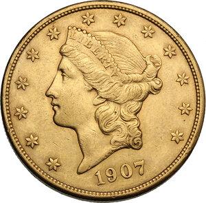 obverse: USA. 20 Dollars 1907