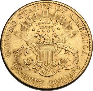 reverse: USA. 20 Dollars 1907