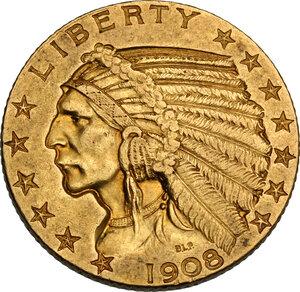 obverse: USA. 5 Dollars 1908, Philadelphia mint