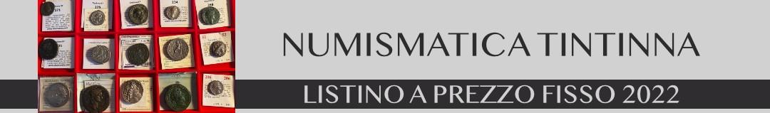 Banner Tintinna - listino 2020/2021
