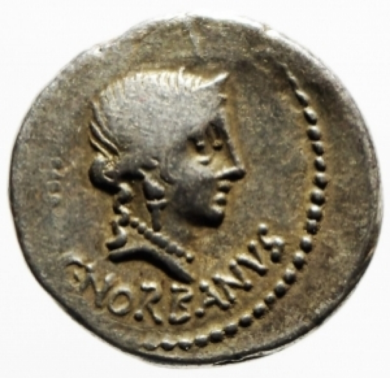 obverse: denario norbana