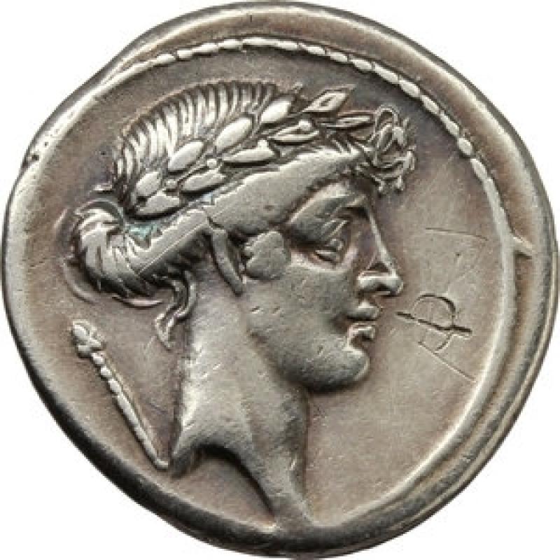 obverse: pomponia denario