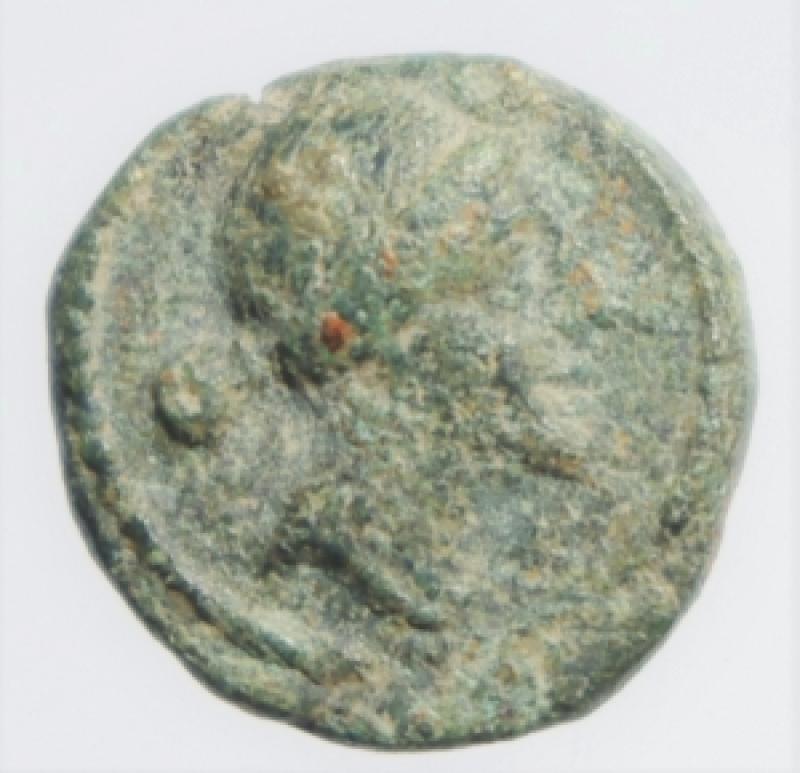 obverse: Mondo Greco. Apulia. Luceria. 211-200 a.C. Semuncia. D/ Testa di Diana verso destra. R/ LOVCERI Crescente. SNG COP 665. Peso 2,45 gr. Diametro 11,00 mm. BB+. Patina verde chiaro. R.