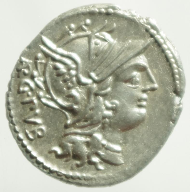 obverse: sentia denario