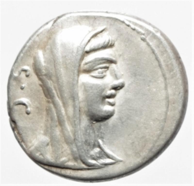 obverse: sulpicia denario