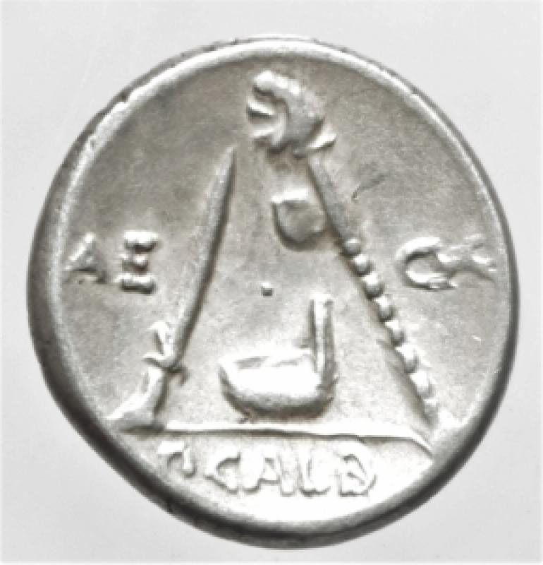 reverse: sulpicia denario