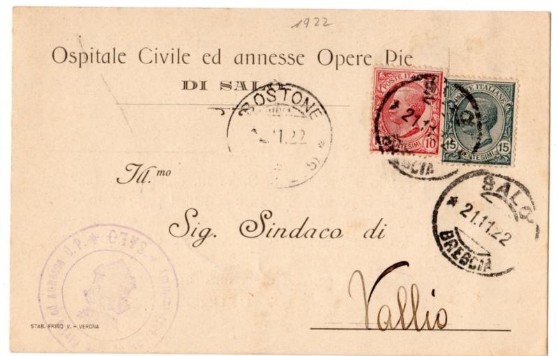 obverse: Cartoline Enti/Commerciali