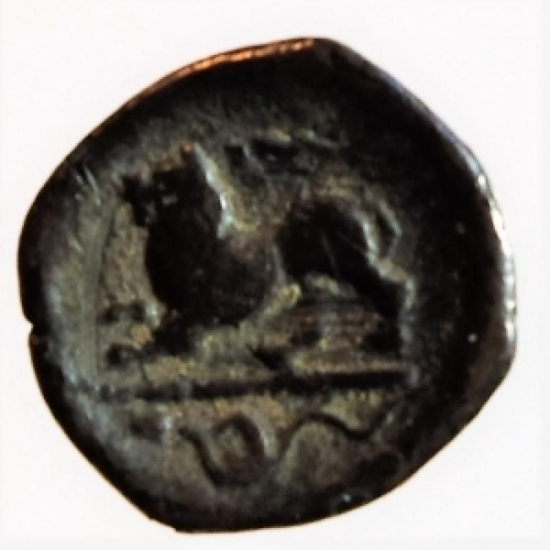 reverse: obolo phistelia