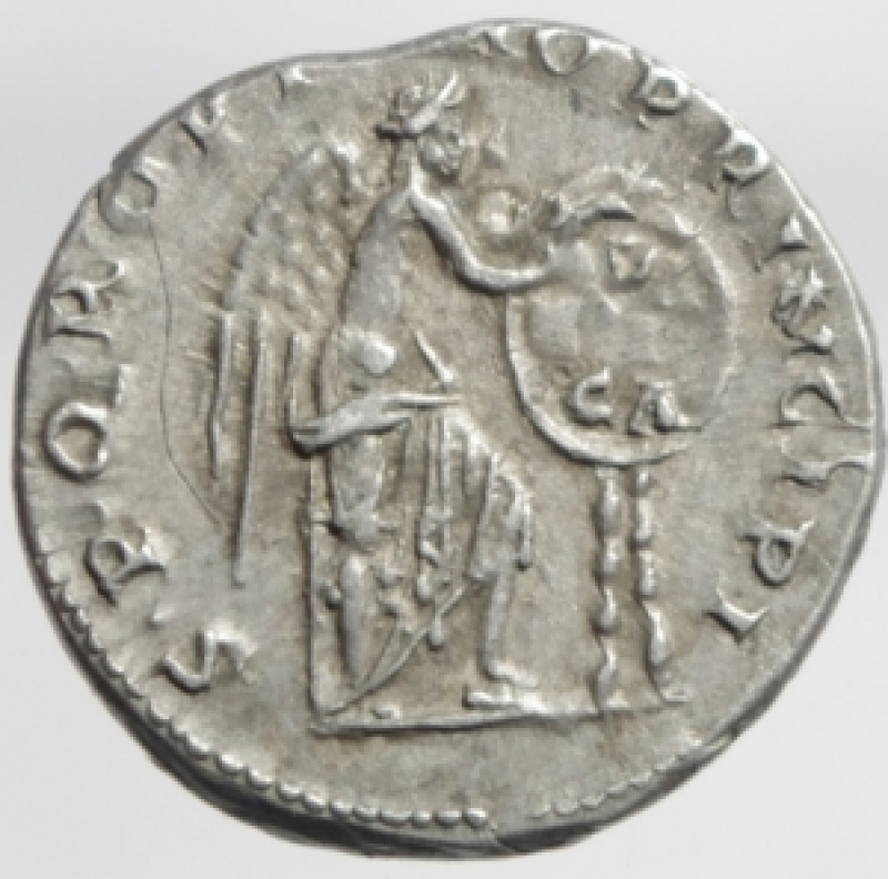 reverse: traiano denario