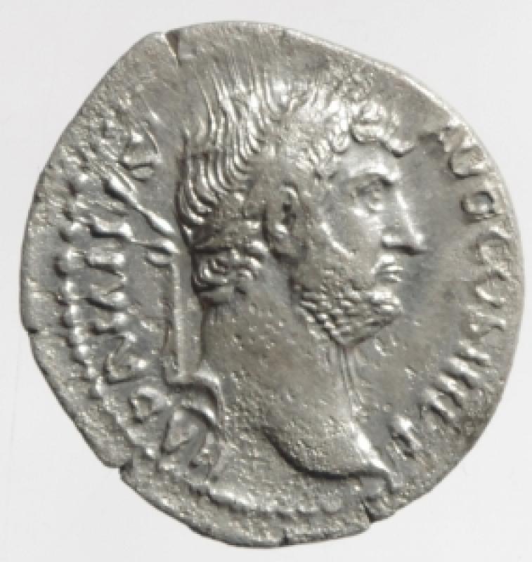 obverse: denario adriano