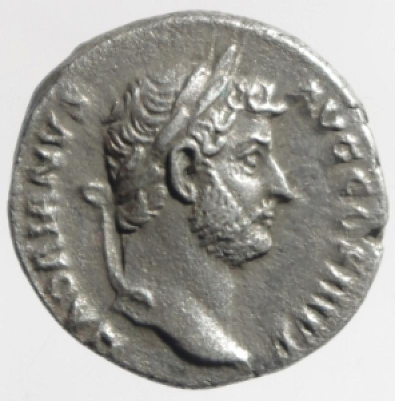 obverse: adriano denario