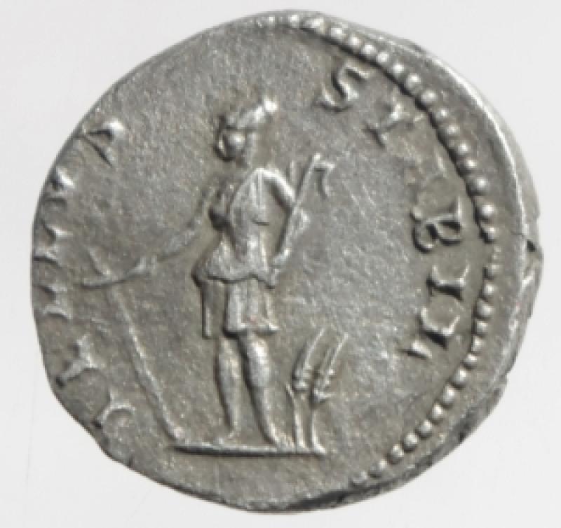 reverse: adriano denario
