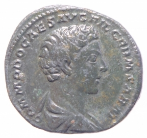 obverse: commodo asse
