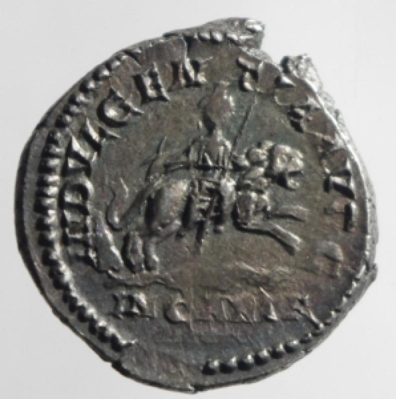 reverse: denario settimio severo
